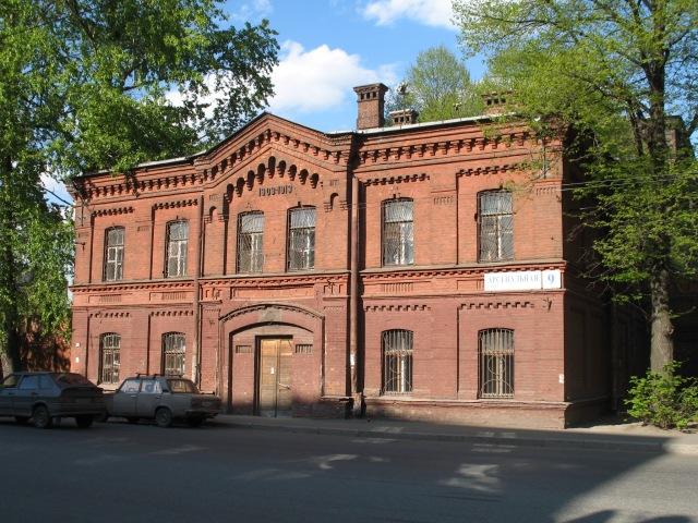 St. Petersburg Psychiatric Hospital - sadly not the site of the GOP debate